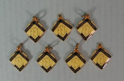 Seven medallions, Federal Football League 1981