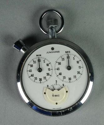 Stopwatch used by netball bench officials at National Championships, c. 1980s
