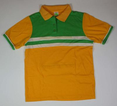 Australian netball uniform associated with Keeley Devery, World Games, Karlsruhe, 1989; Clothing or accessories; N2014.39.1
