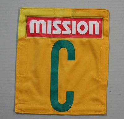 Australian netball team uniform positional patch, 2011