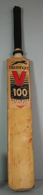 Cricket bat used by Mark Waugh, c.1990-1996
