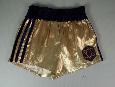Boxing trunks worn by Henry Nissen during his professional career, 1970 - 1974