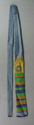 Tie worn by Henry Nissen, Maccabiah (Jewish) Games, 1969