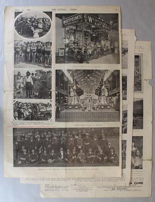 Newspaper clippings relating to life & career of Frank Beaurepaire, dated 1906
