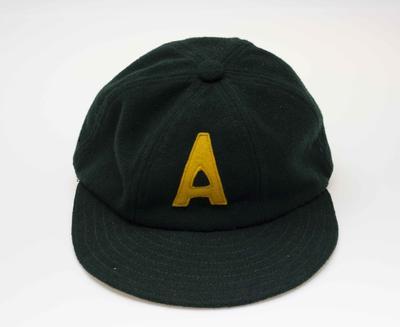 Australian team cap worn by Ken Morrison, Melbourne Olympic Games, 1956