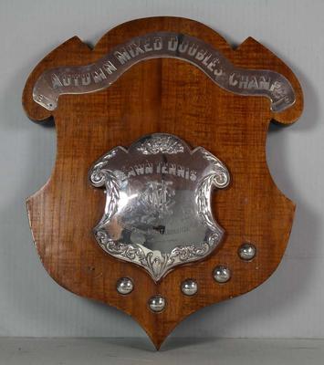 MCC Tennis Autumn Tournament Mixed Doubles Shield, 1912 - 1922
