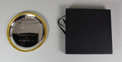 Commemorative plate, MS Australia Ashes Trek, 2013