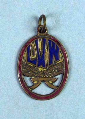 Medal awarded to W.F. Maddock - League of Victorian Wheelmen