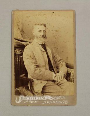 Cabinet Card photograph of  Charles Taylor