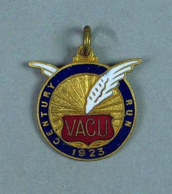 Medal, VACU Century Run 1923