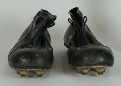 Boots worn by Hawthorn's Peter Crimmins, c. 1966-1975