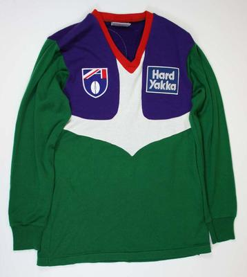 Fremantle Dockers guernsey worn by Scott Chisholm, 1995