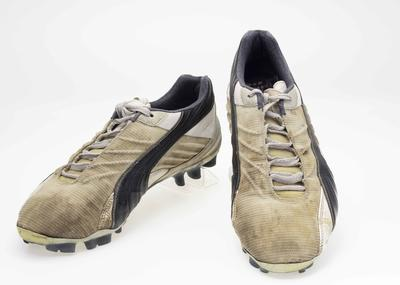 Football boots worn by  Peter Bell, 2004