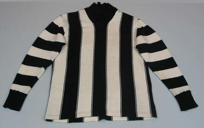 Collingwood guernsey worn by Bob Rose, c. 1946-1955
