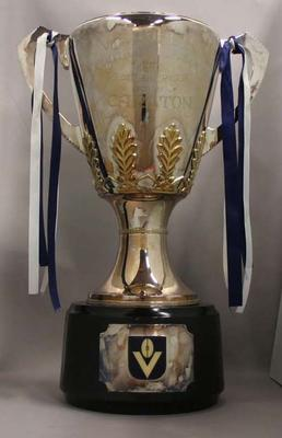 Copy of 1970 VFL Premiership trophy awarded to Carlton FC
