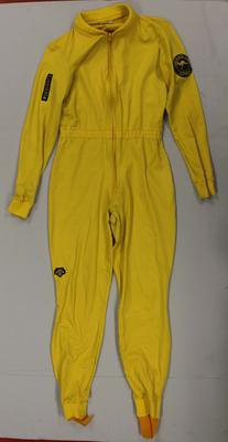 Cross country ski suit worn by Colleen Bolton, Lake Placid Olympic Games, 1980