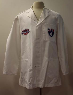 Goal umpire's coat worn by Graham Danne, AFL Grand Final, 1994