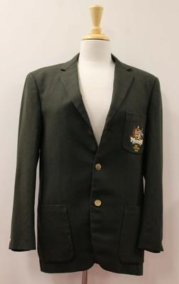 Australian women's basketball team blazer worn by Annette D'Ombrain, 1957 -58; Clothing or accessories; N2015.55.2