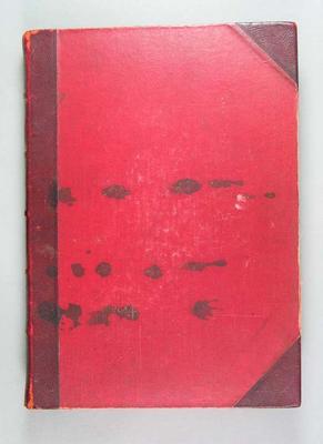 Scrapbook associated with Haydn Bunton Snr