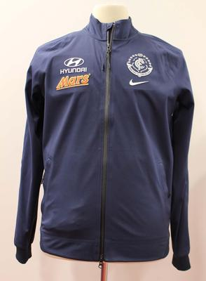 Carlton Football Club jacket worn by Carlton coach Michael Malthouse, May 1, 2015
