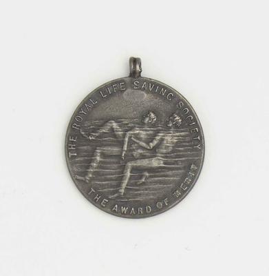 Royal Life Saving Society Award of Merit awarded to Richmond 'Dick' Eve, 1919