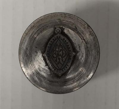 Die used to cast Melbourne Cricket Club full membership fobs, 1913/14