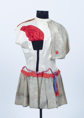Costume associated with the Melbourne Olympic Games, 1956