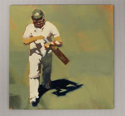 'OUT! - Cricket at the MCG', by Helen Cooper, 2015