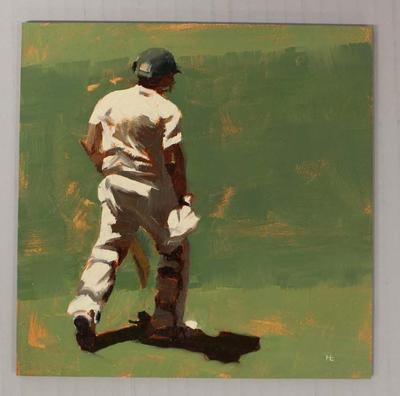'BATSMAN 2 - Cricket at the MCG', by Helen Cooper, 2015