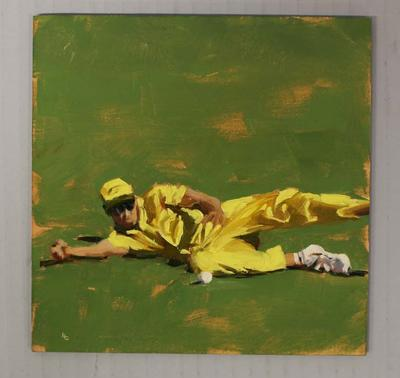 'IN THE FIELD - Cricket at the MCG', by Helen Cooper, 2015