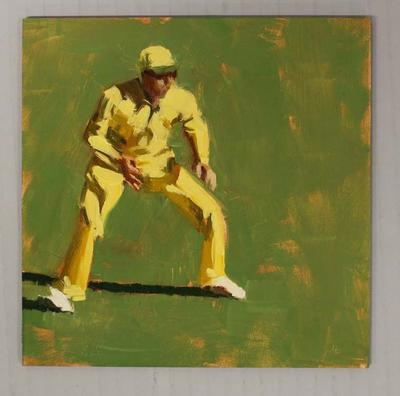 IN THE FIELD 2 - Cricket at the MCG', by Helen Cooper, 2015