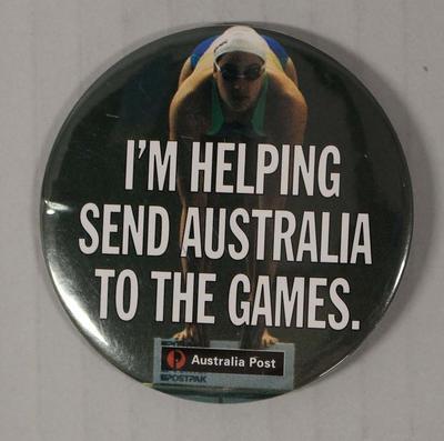 Australia Post badge produced for the 1996 Atlanta Olympic Games