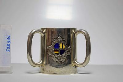 Cup presented to John Hart by the 8th Australian XI, 1893; Trophies and awards; M16855