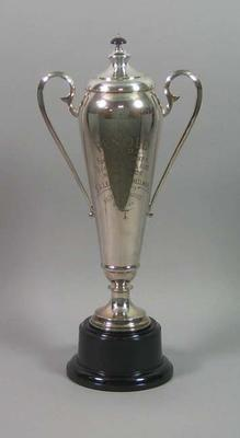 Trophy for Burra-Adelaide Road Race 1935, won by Keith Thurgood