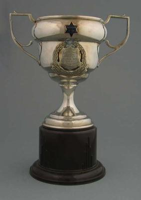 Trophy for 1937 Tour of Lower North Fastest Time, won by Keith Thurgood