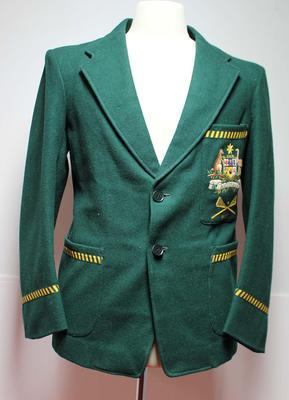 Australian lacrosse team blazer worn by Dave Bowman, 1950