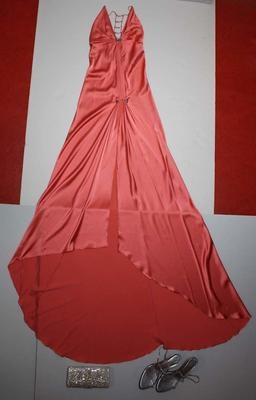 Outfit worn by Natalie Bassingthwaighte, Brownlow Medal dinner, 2004