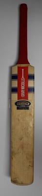 Cricket bat used by Matthew Hayden to score 99 v India, 2003