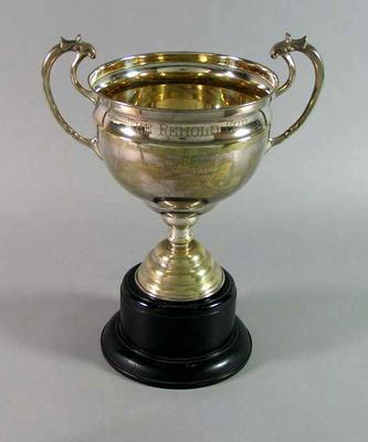 Trophy for Adelaide-Port Pirie 150 Mile Championship 1938, won by Keith Thurgood