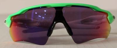 Sunglasses worn by James McRae, men's quadruple sculls, Rio Olympic Games, 2016; Sporting equipment; 2016.6.2
