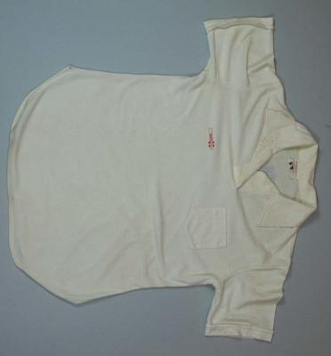 Women's Cricket World Cup uniform shirt worn by Sharon Tredrea, 1988