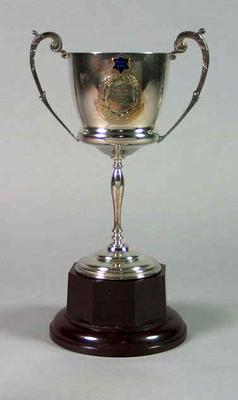 Trophy for Riverina Championship One Mile Race 1938, won by Keith Thurgood