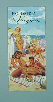 Travel brochure for Virginia, c1950s