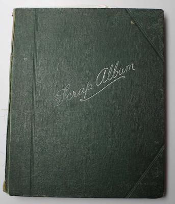 Scrap album compiled by Albert Broomham during his rugby career, circa 1900s.; Documents and books; N2017.6.15