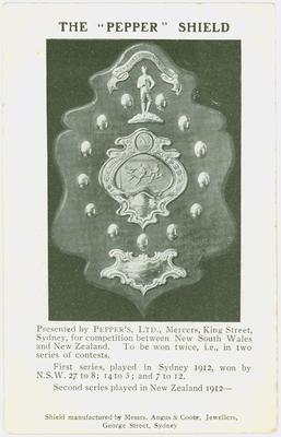 NSWRL NZ tour player cards, 1912