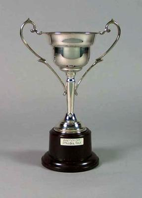 Trophy for Exeter Five Mile Scratch Race 1939, won by Keith Thurgood