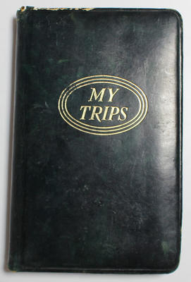 Personal travel journal of Ian Johnson, covering March and April, 1956.
