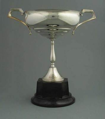 Trophy for Bairnsdale 5 Mile Scratch Race 1939, won by Keith Thurgood