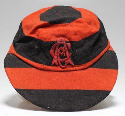 Auckland Cricket Association cap, date unknown.