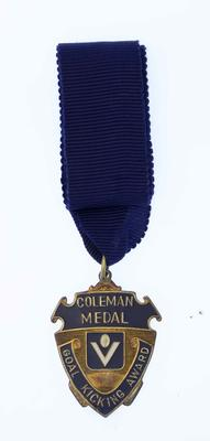 Coleman Medal awarded to Malcolm Blight, 1982.